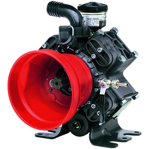 AR1064 - 550 RPM - Semi-Hydraulic Four Diaphragm Pump