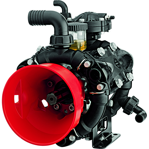 AR140 - 550 RPM - Semi-Hydraulic Three-Diaphragm Pump
