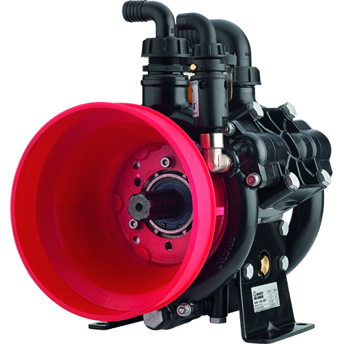 AR125 - AR145 - 550 RPM - Semi-Hydraulic Three-Diaphragm Pump