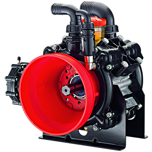 AR160 - AR185 - 550 RPM - Semi-Hydraulic Four-Diaphragm Pump