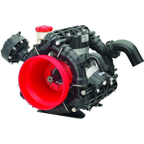 AR245 - AR275 - 550 RPM - Semi-Hydraulic Four-Diaphragm Pump