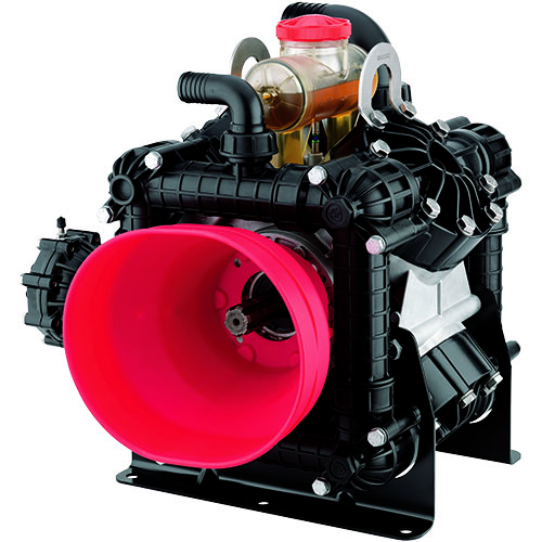 Annovi Reverberi AR380BP-C/C 550 RPM Semi-Hydraulic Four Diaphragm Pump