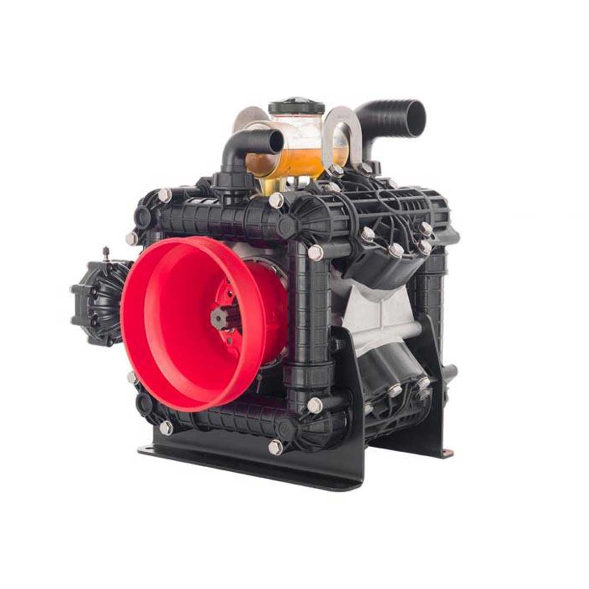 AR330 - AR380 - 550 RPM - Semi-Hydraulic Four-Diaphragm Pump