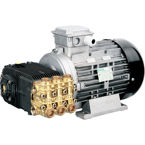 Motor Pump Consisting of XWAM8G29 Pump Directly Coupled to - R1245A Motor 1750 RPM Solid Shaft 24mm