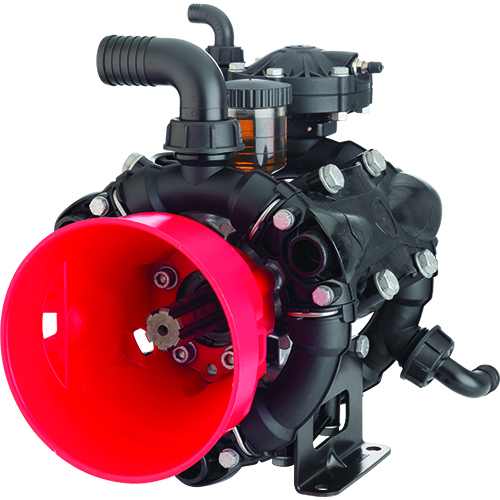 AR120 - 550 RPM - Semi-Hydraulic Three-Diaphragm Pump