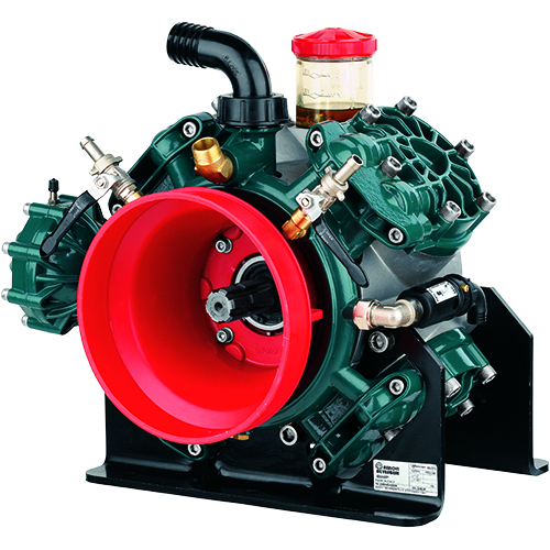 BHP170 - BHP200 - 550 RPM - Semi-Hydraulic Four Diaphragm Pump