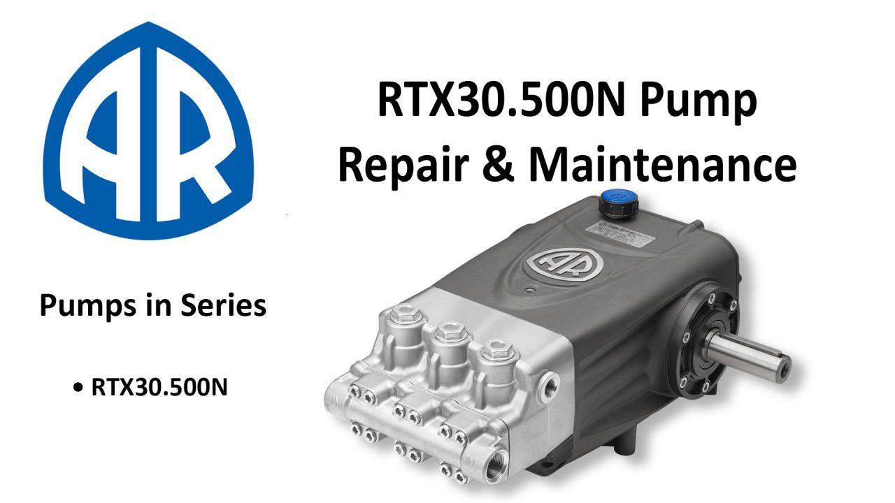 Annovi Reverberi RTX RTX30.500N Plunger Pump